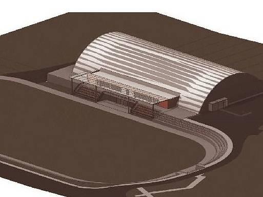 Na jaře v Telči začne stavba nového zimního stadionu