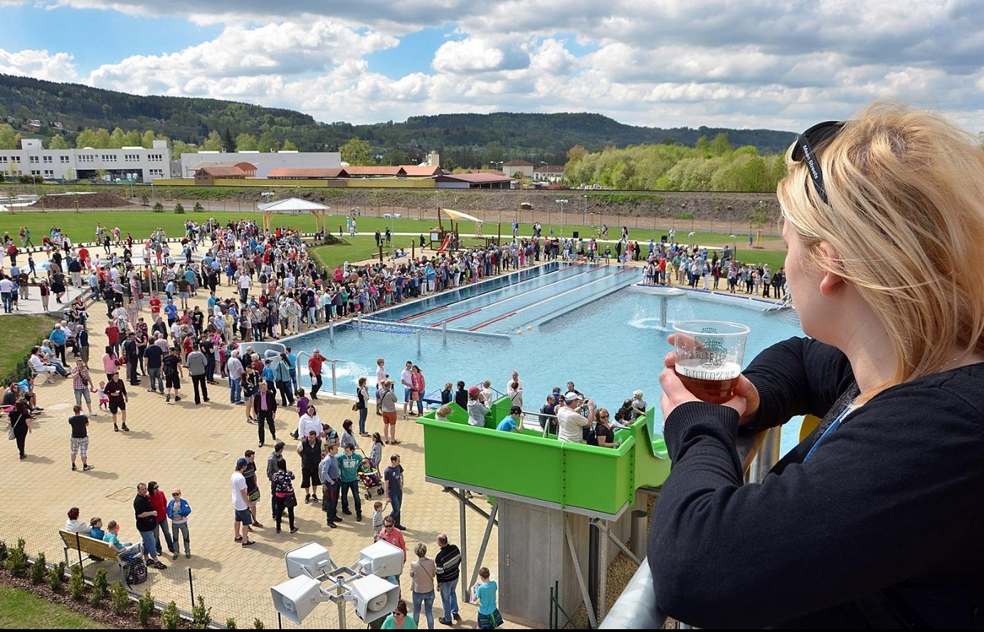 Stavbou roku Libereckého kraje je areál s bazénem a stadionem v Turnově